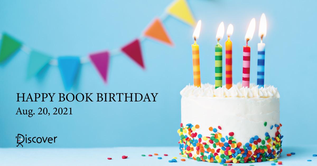 【8月20日 zoomで開催】新刊の発売を著者と祝おう!読者・著者・出版社がつながる「ディスカヴァー・ブックバースデー」